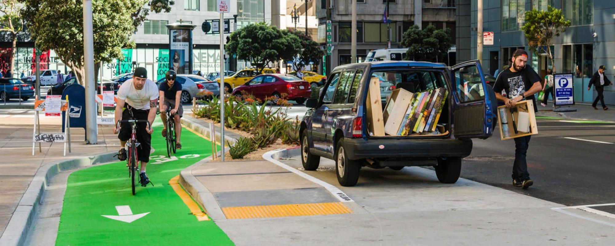Polk Street Bikeway Improvement Project
