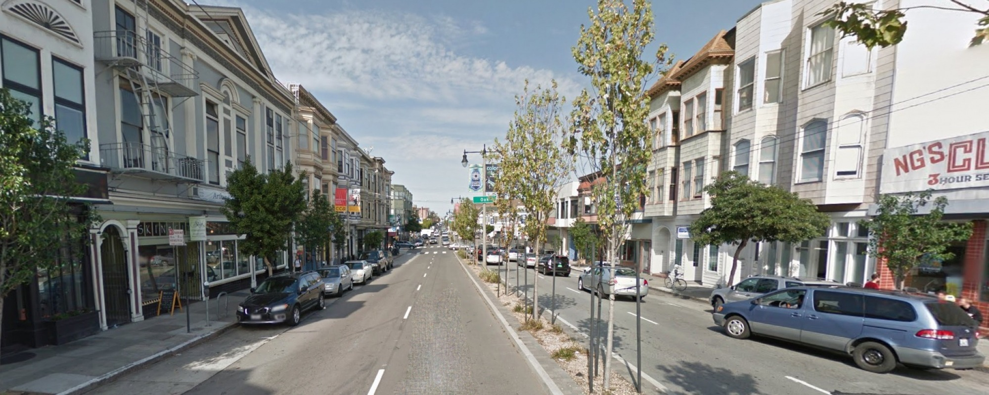 Divisadero Streetscape Improvements