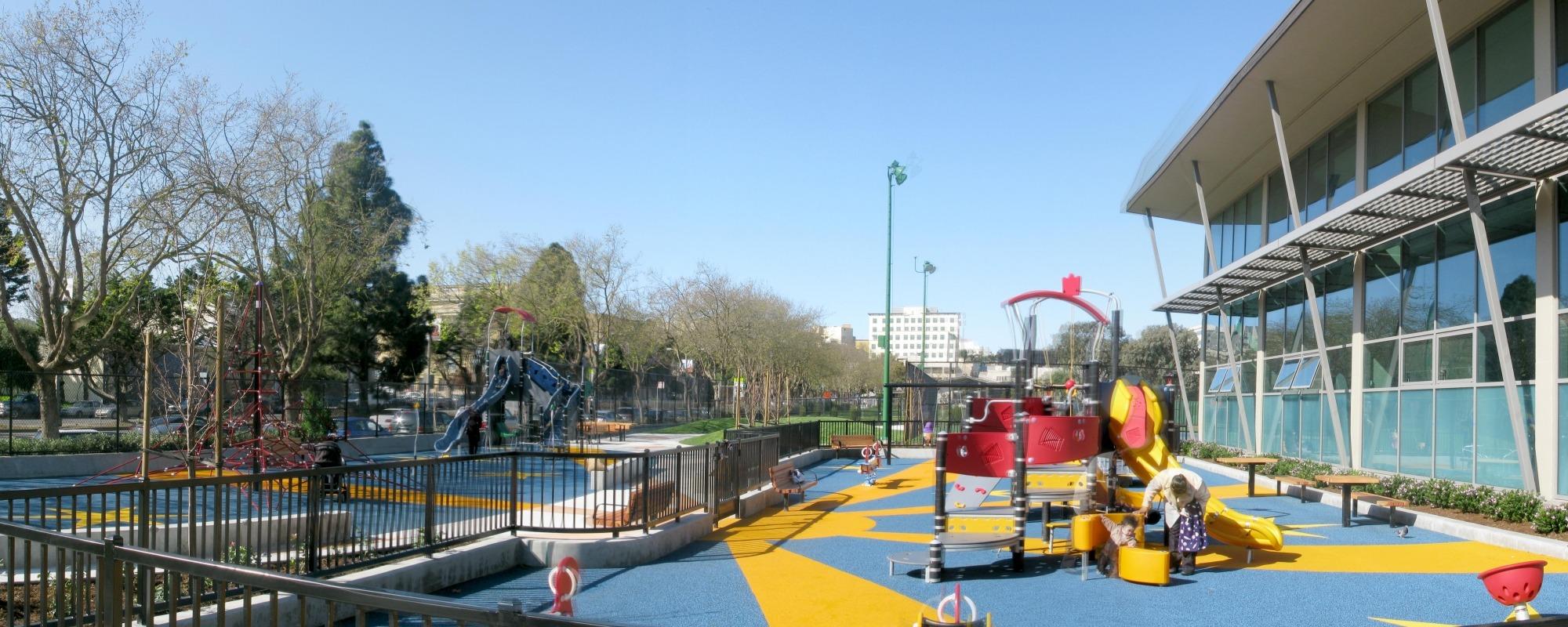 Hamilton Recreation Center & Playground Renovation